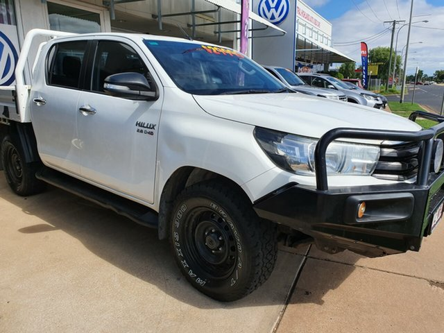 Used Toyota Hilux GGN120R SR, 2016 Toyota Hilux GGN120R SR 6 Speed Automatic Dual Cab Utility