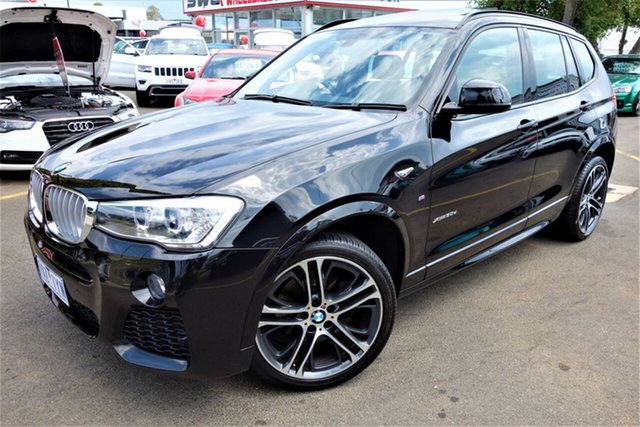Used BMW X3 F25 LCI xDrive30d Steptronic, 2015 BMW X3 F25 LCI xDrive30d Steptronic Grey 8 Speed Sports Automatic Wagon