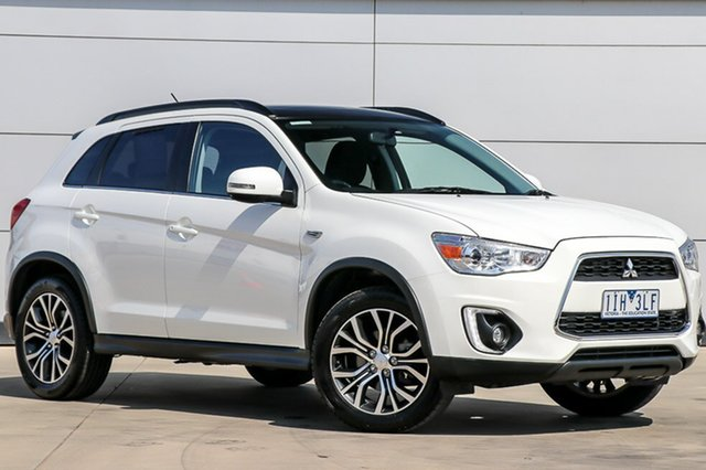 Used Mitsubishi ASX XB MY15.5 LS 2WD, 2015 Mitsubishi ASX XB MY15.5 LS 2WD White 6 Speed Constant Variable Wagon