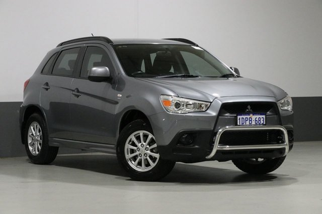 Used Mitsubishi ASX XA (2WD), 2011 Mitsubishi ASX XA (2WD) Grey Continuous Variable Wagon
