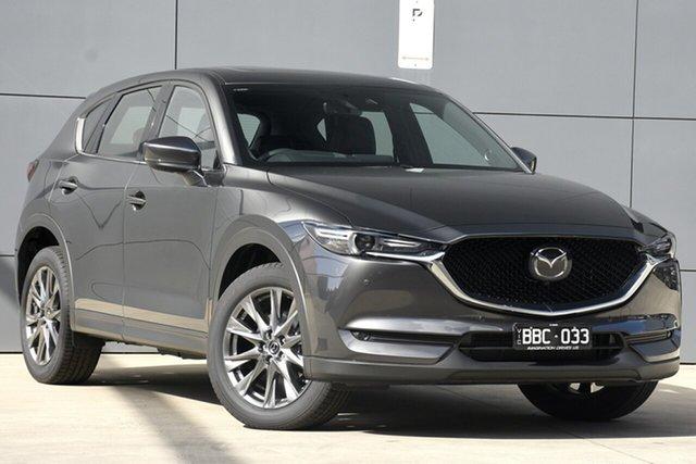 Used Mazda CX-5 KF4WLA Akera SKYACTIV-Drive i-ACTIV AWD, 2019 Mazda CX-5 KF4WLA Akera SKYACTIV-Drive i-ACTIV AWD Machine Grey 6 Speed Sports Automatic Wagon