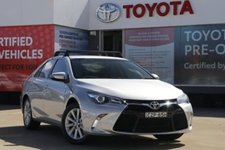 2015 Toyota Camry ASV50R Atara S Premium Silver 6 Speed Sports Automatic Sedan.