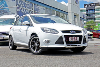 2012 Ford Focus LW MkII Sport PwrShift White 6 Speed Sports Automatic Dual Clutch Hatchback.