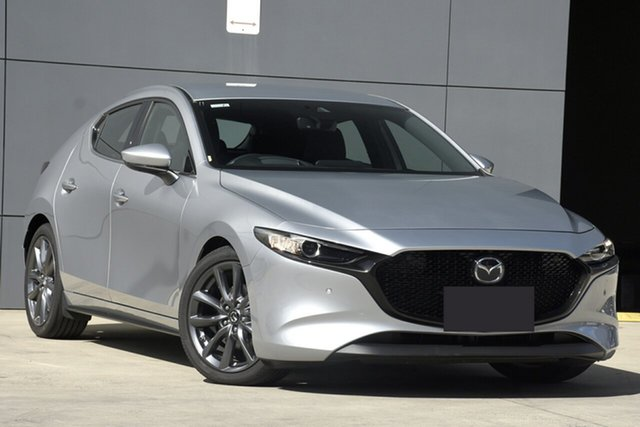 Used Mazda 3 BP2HLA G25 SKYACTIV-Drive GT, 2019 Mazda 3 BP2HLA G25 SKYACTIV-Drive GT Sonic Silver 6 Speed Sports Automatic Hatchback