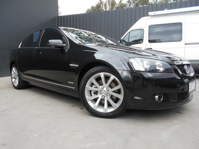 Used Holden Calais VE MY10 V, 2009 Holden Calais VE MY10 V Black 6 Speed Automatic Sedan