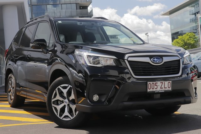 Demo Subaru Forester S5 MY20 2.5i-L CVT AWD, 2019 Subaru Forester S5 MY20 2.5i-L CVT AWD Crystal Black 7 Speed Constant Variable Wagon