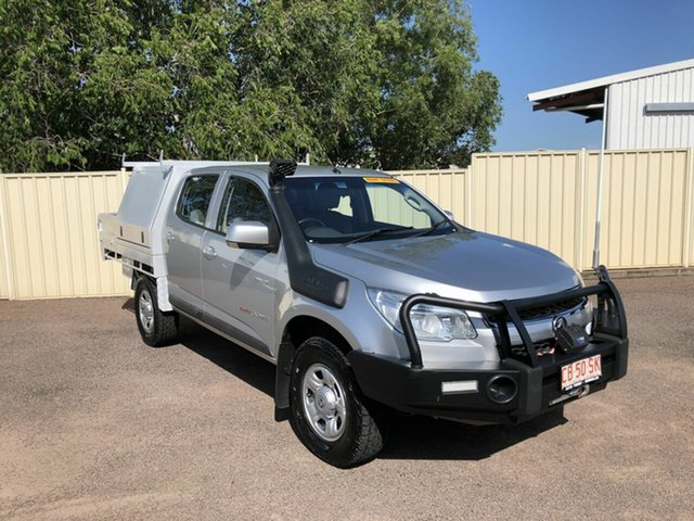 Used Holden Colorado RG MY14 LT Crew Cab, 2014 Holden Colorado RG MY14 LT Crew Cab Silver 6 Speed Sports Automatic Utility