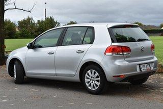 2010 Volkswagen Golf VI MY10 90TSI DSG Trendline Silver 7 Speed Sports Automatic Dual Clutch.