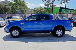 2017 Ford Ranger PX MkII 2018.00MY XLT Double Cab Winning Blue 6 Speed Sports Automatic Utility
