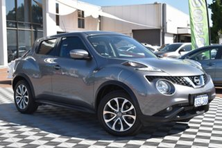 2015 Nissan Juke F15 Series 2 Ti-S X-tronic AWD Grey 1 Speed Constant Variable Hatchback.
