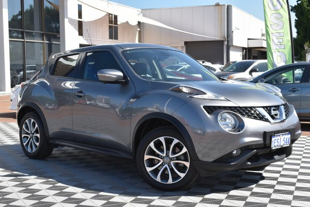 Used Nissan Juke F15 Series 2 Ti-S X-tronic AWD, 2015 Nissan Juke F15 Series 2 Ti-S X-tronic AWD Grey 1 Speed Constant Variable Hatchback