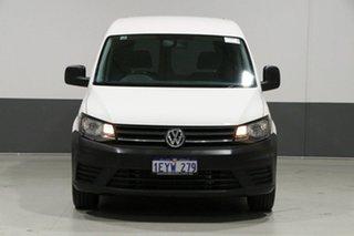 2016 Volkswagen Caddy 2K MY16 TSI160 Runner White 5 Speed Manual Van.