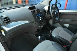 2012 Holden Barina Spark MJ MY12 CD White 5 Speed Manual Hatchback
