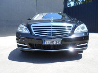 2009 Mercedes-Benz S500 221 09 Upgrade L Black 7 Speed Automatic G-Tronic Sedan.