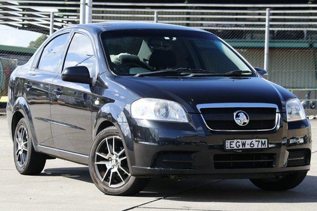 Used Holden Barina TK MY08 , 2009 Holden Barina TK MY08 BARINA Black Automatic Sedan
