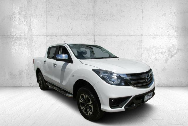 Used Mazda BT-50 UR0YG1 XTR, 2019 Mazda BT-50 XTR XTR White 6 Speed Automatic Dual Cab