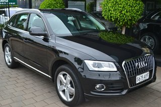 2013 Audi Q5 8R MY14 TDI S Tronic Quattro Black Metallic 7 Speed Sports Automatic Dual Clutch Wagon.