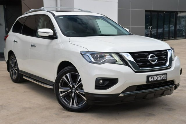 Used Nissan Pathfinder R52 Series II MY17 Ti X-tronic 2WD, 2017 Nissan Pathfinder R52 Series II MY17 Ti X-tronic 2WD White 1 Speed Constant Variable Wagon