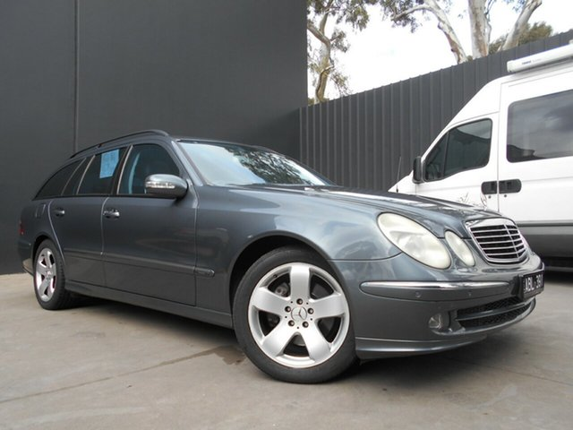 Used Mercedes-Benz E500 211 MY06 Upgrade Avantgarde, 2005 Mercedes-Benz E500 211 MY06 Upgrade Avantgarde Grey 7 Speed Automatic G-Tronic Wagon