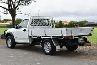 2008 Holden Rodeo RA MY08 DX White 5 Speed Manual Cab Chassis.