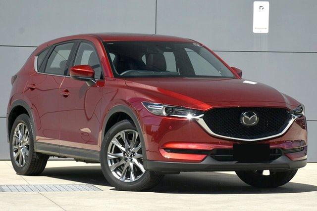 Used Mazda CX-5 KF4W2A Akera SKYACTIV-Drive i-ACTIV AWD, 2019 Mazda CX-5 KF4W2A Akera SKYACTIV-Drive i-ACTIV AWD Soul Red 6 Speed Sports Automatic Wagon