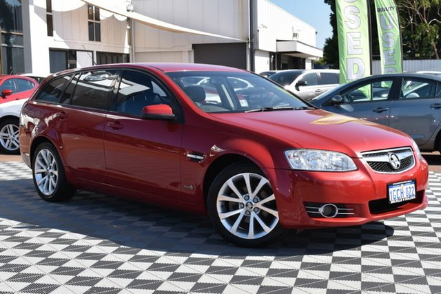 Used Holden Commodore VE II MY12 Equipe Sportwagon, 2012 Holden Commodore VE II MY12 Equipe Sportwagon Red/Black 6 Speed Sports Automatic Wagon