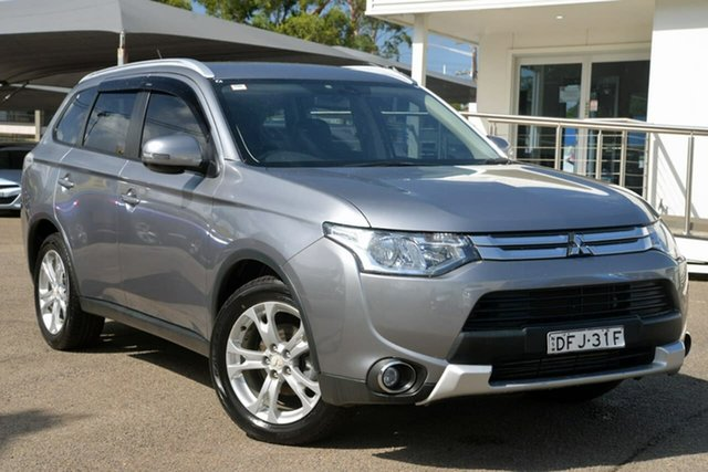 Used Mitsubishi Outlander ZJ MY14.5 LS 4WD, 2014 Mitsubishi Outlander ZJ MY14.5 LS 4WD Grey 6 Speed Sports Automatic Wagon