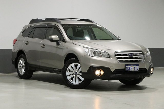 Used Subaru Outback MY17 2.0D AWD, 2017 Subaru Outback MY17 2.0D AWD Champagne Continuous Variable Wagon
