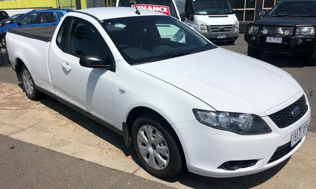 Used Ford Falcon FG , 2010 Ford Falcon FG 3x SEATER 4 Speed Automatic Cab Chassis