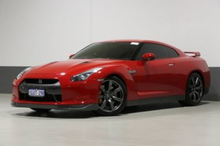 2009 Nissan GT-R R35 Premium Red 6 Speed Auto Dual Clutch Coupe.