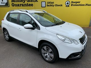 2016 Peugeot 2008 A94 Active White 4 Speed Sports Automatic Wagon.