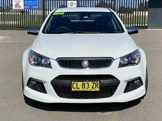 2014 Holden Special Vehicles Senator Gen-F MY15 Signature White 6 Speed Sports Automatic Sedan.