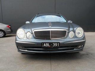 2005 Mercedes-Benz E500 211 MY06 Upgrade Avantgarde Grey 7 Speed Automatic G-Tronic Wagon.