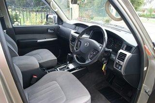 2007 Nissan Patrol GU VI ST (4x4) Desert Gold 4 Speed Automatic Wagon