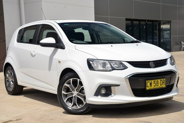 Used Holden Barina TM MY18 LS, 2018 Holden Barina TM MY18 LS White 5 Speed Manual Hatchback