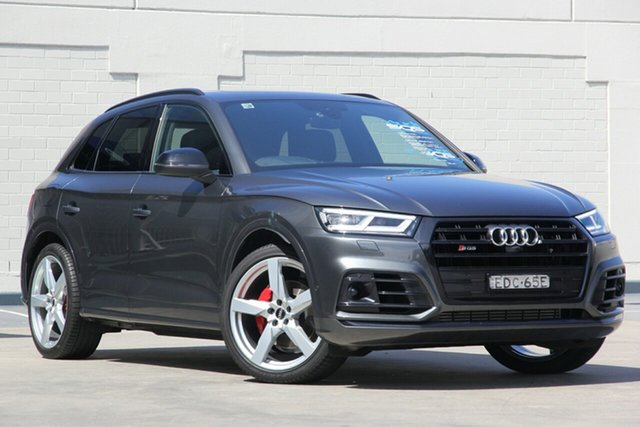 Used Audi SQ5 FY MY19 Tiptronic Quattro, 2019 Audi SQ5 FY MY19 Tiptronic Quattro Grey 8 Speed Sports Automatic Wagon