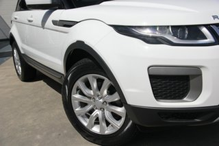 2017 Land Rover Range Rover Evoque L538 MY17 TD4 150 SE White 9 Speed Sports Automatic Wagon.