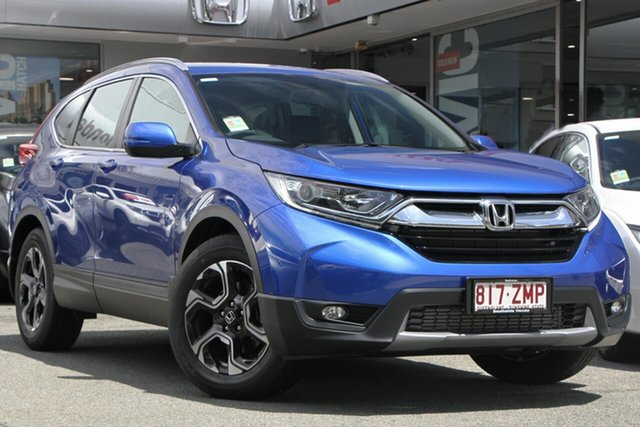 Demo Honda CR-V RW MY20 VTi-E FWD, 2019 Honda CR-V RW MY20 VTi-E FWD Blue 1 Speed Constant Variable Wagon