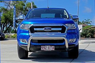 2017 Ford Ranger PX MkII 2018.00MY XLT Double Cab Winning Blue 6 Speed Sports Automatic Utility.