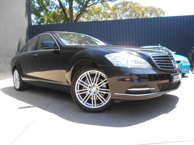 Used Mercedes-Benz S500 221 09 Upgrade L Fawkner, 2009 Mercedes-Benz S500 221 09 Upgrade L Black 7 Speed Automatic G-Tronic Sedan