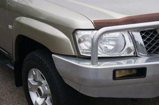 2007 Nissan Patrol GU VI ST (4x4) Desert Gold 4 Speed Automatic Wagon.