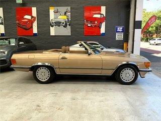 1986 Mercedes-Benz 560SL R107 Gold Automatic Convertible