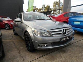 2008 Mercedes-Benz C200 W204 KOMPRESSOR Avantgarde Grey 5 Speed Auto Tipshift Sedan.