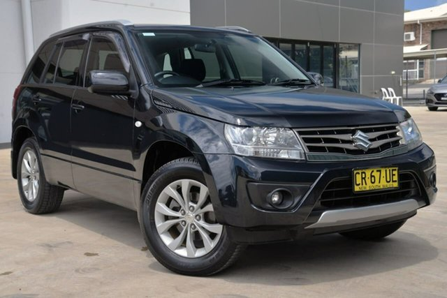 Used Suzuki Grand Vitara JB Navigator 2WD, 2014 Suzuki Grand Vitara JB Navigator 2WD Black 5 Speed Manual Wagon