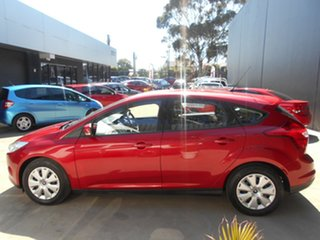 2013 Ford Focus LW MK2 Ambiente Red 6 Speed Automatic Hatchback