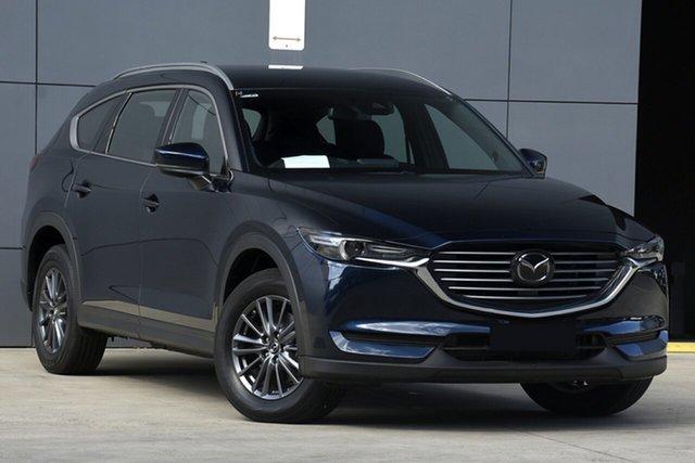 Used Mazda CX-8 KG4W2A Sport SKYACTIV-Drive i-ACTIV AWD, 2019 Mazda CX-8 KG4W2A Sport SKYACTIV-Drive i-ACTIV AWD Deep Crystal Blue 6 Speed Sports Automatic