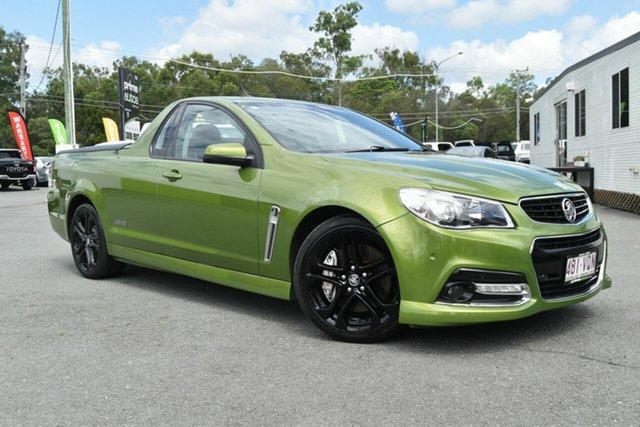 Used Holden Ute VF MY15 SS-V Redline, 2015 Holden Ute VF MY15 SS-V Redline Green 6 Speed Automatic Utility