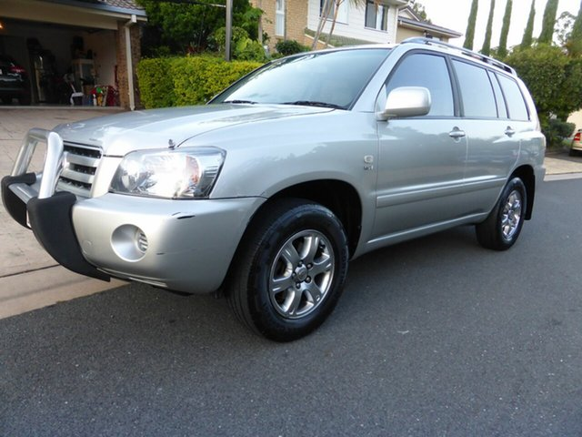 Used Toyota Kluger MCU28R Upgrade CV (4x4), 2007 Toyota Kluger MCU28R Upgrade CV (4x4) Silver 5 Speed Automatic Wagon