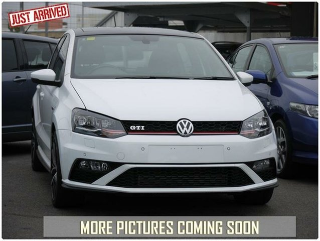 Used Volkswagen Polo 6R GTi, 2015 Volkswagen Polo 6R GTi White Sports Automatic Dual Clutch Hatchback