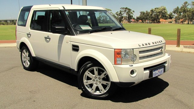 Used Land Rover Discovery 3 Series 3 09MY SE, 2009 Land Rover Discovery 3 Series 3 09MY SE White 6 Speed Sports Automatic Wagon
